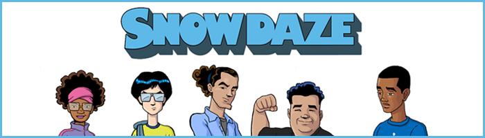 SnowDaze-button